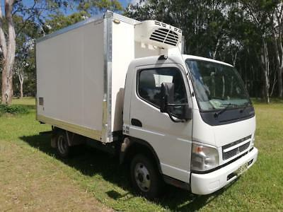 Mitsubishi 2010 Fuso Canter Refrigerated pan turbo intercooled diesel 5spd lowK