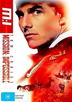 Mission Impossible M:i - Brand New & Sealed Region 4 Dvd (Tom Cruise, Jean Reno)