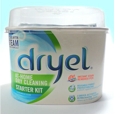 NEW Dryel Dryer Cleaner Kit Clean Breeze Laundry At-Home