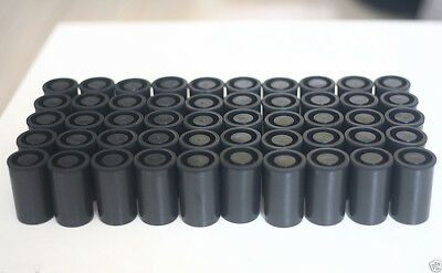 10pcs Empty black bottle 32mm film cans canisters containers for kodak or fuji