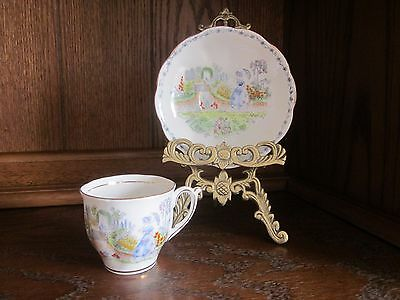 Bell Fine Bone China England 'Lady in Garden Scene'