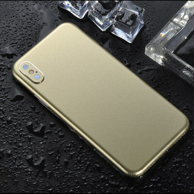 Gold Ultra-thin Back Screen Sticker Package Border Film for iPhone Xs,Xs MAX