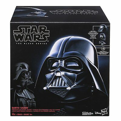 NEW! Hasbro Darth Vader Premium Electronic Helmet Star Wars The Black Series