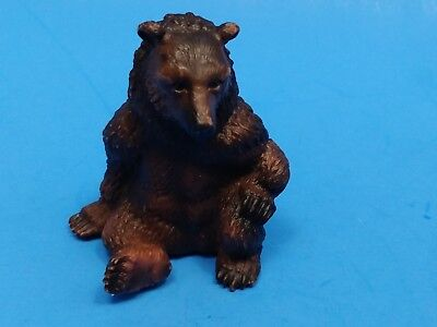 Schleich - Sitting Grizzly Bear - Retired 1995 - Figure