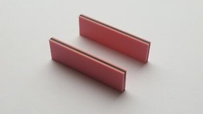 Two Zebra Strips (Elastomeric connectors) 40 x 12 x 2.7 mm (L x H x W)