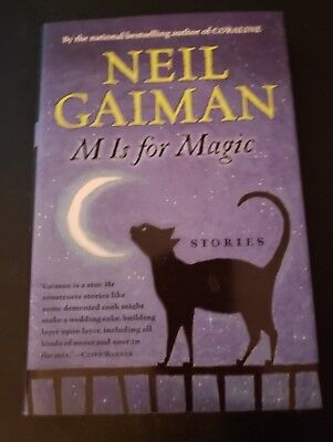 M Is For Magic (Hc) Hardcover    Neil Gaiman   2007   1St Edition