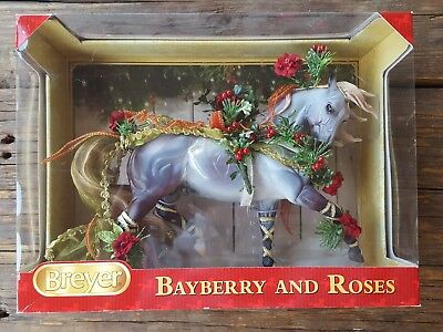 Breyer CHRISTMAS 2014 BAYBERRY and ROSES Holiday Horse NIB