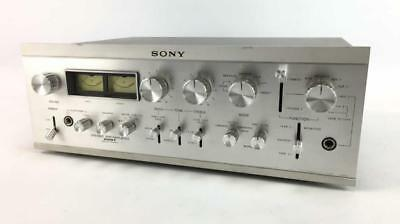 Vintage Sony Stereo Preamplifier Solid State TA-2000F
