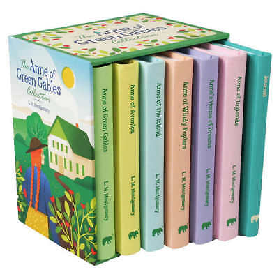The Anne of Green Gables Collection: 7 Book Box Set,New,Sealed, Free Shipping!!!