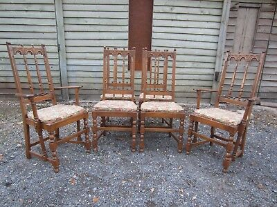 Stunning Set of Six Ercol York Minster Dining Chairs (4+2) in Golden Dawn Finish