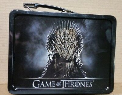 Game Of Thrones Metal Tin Collectible Lunch Box 2013 Official HBO New