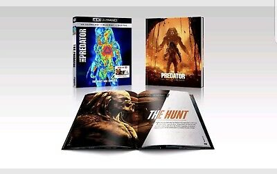 The Predator 2018 Target Exclusive(4K Ultra Hd+Blu-Ray+Digital)New