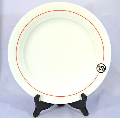 MICHAEL JORDAN-THE STEAK HOUSE New York City DINNER PLATE NBA BULLS Schonwald