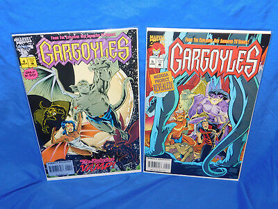 Gargoyles #4 & 5 Lot (1995, Marvel) From Disney Cartoon TV Series VF