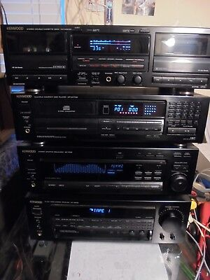 Vintage Kenwood Stereo System And Components