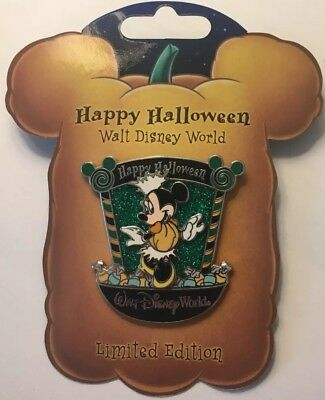 Disney World - Happy Halloween 2007 - Candy Characters Minnie Mouse LE2000 Pin
