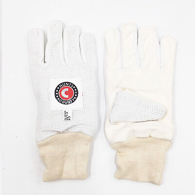 Hunts County Chamois / Cotton Padded Inner gloves - Youth