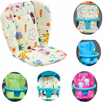 Removable New Baby High Chair Mat Feeding Seat Folding Cover Booster Pram Pad
