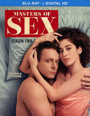 Masters of Sex: Season Two (Blu-ray Disc, 2015, 4-Disc Set, Includes Digital...