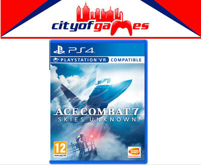 Ace Combat 7 Skies Unknown PS4 Game Brand New & Sealed