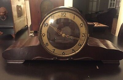 Vintage German  Mantle Clock A-3