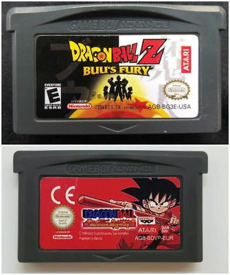 Dragon Ball Z / Adventure Cartridge Card For Game Boy Advance GBA SP NDS NDSL