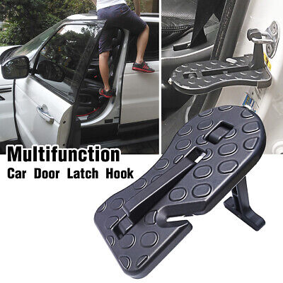 Portable Car Door Latch Hook Folding Step Foot Pedal Ladder for Jeep SUV Truck