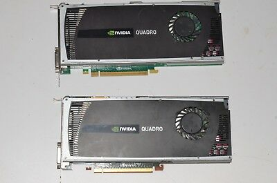 NVIDIA QUADRO 4000 PCIe Video Card 2GB 038XNM DVI/Dual DP X2 SLI