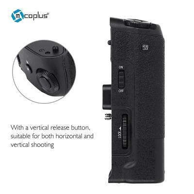 Mcoplus DMW-BGG1 Lightweight Vertical Battery Grip for Panasonic Lumix G80 G85