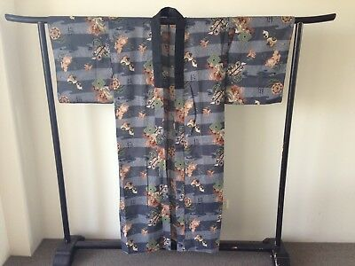 Vintage Men's Japanese Kimono Authentic Costume Hand Made One of a Kind
