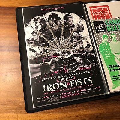 Man with the Iron Fists Movie Poster 11x17 Quentin Tarantino RZA Wu Tang PROMO