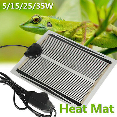 5W 15W 25W 35W Heat Mat Reptile Brooder Incubator Heating Pad Warm Heater