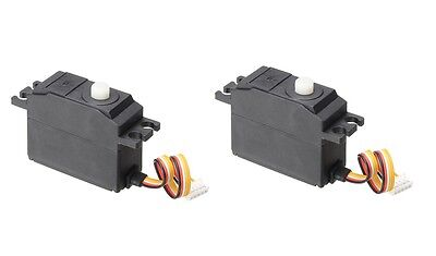 2 x REMO 5 Wire Servo E9831 1/16 RC Car Parts For Truggy Buggy Short Course 1631