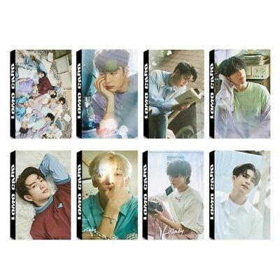 30pcs KPOP GOT7 Album Present:YOU Photo Card Lullaby Self Made Lomo Cards Gift