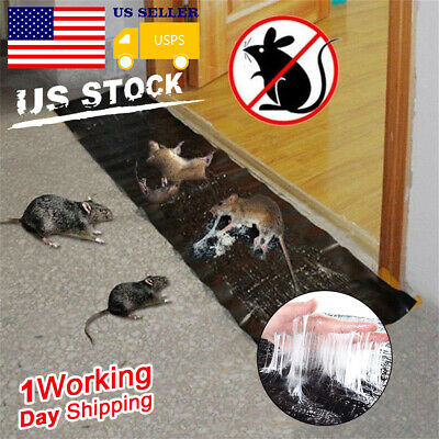 Big Size Mice Mouse Rodent Glue Traps Board Super Sticky Rat Snake Bugs Catcher