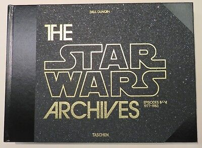 The Star Wars Archives 1977-1983  Published by Taschen Brand New