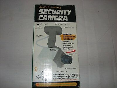 Vintage Dummy Camera Oscillating Home Security Fake Camera with blinking light