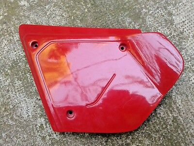 cache latéral gauche Honda 125 XLS / side cover left side Honda XL 125 S