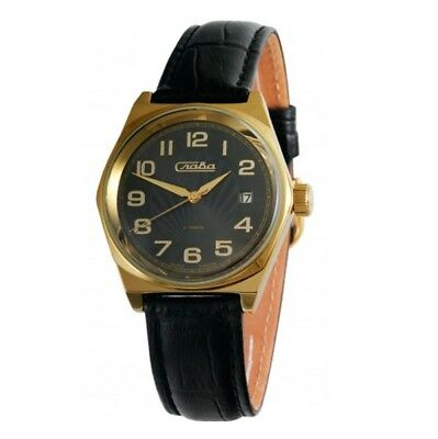 RUSSIAN RARE RETRO Mechanical Wrist Watch SLAVA 2039441 | Skeleton Vintage USSR