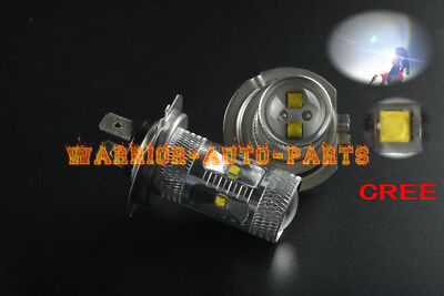 High Power HID LED Headlight H7 Bulbs for Honda Silver Wing 600 Lights 2002-2013