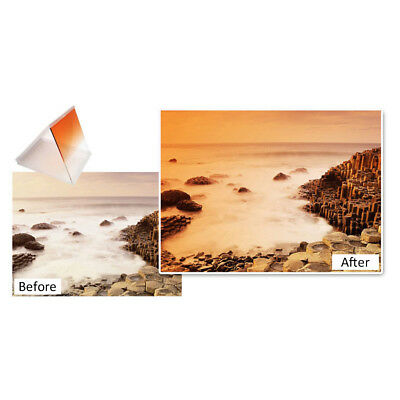 5Pcs Gel Filter Colored Overlays Plastic Sheets for Photography
