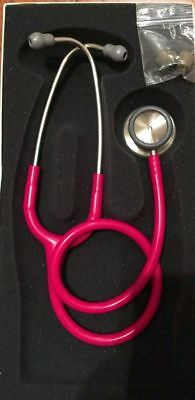 "Litmann Classic II S.E. Medical Stethoscope 28"" Raspberry, 2210"