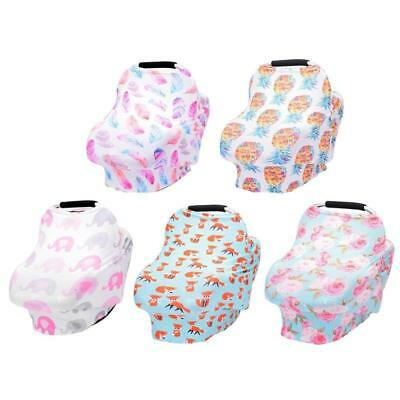 Baby Nursing Privacy Cover Infant Stroller Car Seat Scarf Soft Breastfeeding Cov