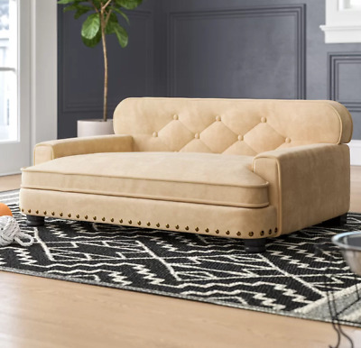 RAISED DOG BED Large Elevated Sofa Pet Puppy Home Couch ...