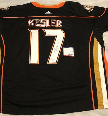 a02db31b Ryan Kesler Signed Autographed Anaheim Ducks Jersey Stanley Cup Psa/Dna