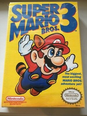 Nintendo Nes Box Only For Super Mario Bros 3 Three Classic System Nes Hq