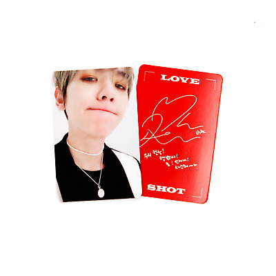 [EXO]5th Repackage Album-Love Shot/Love version Official Photocard-BAEKHYUN