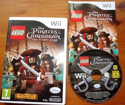 Lego Pirates Of The Caribbean Game For Nintendo Wii - No Manual