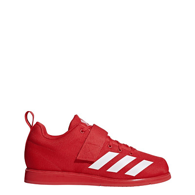 Mens Adidas Powerlift 4 Red Weightlifting Athletic Sport Shoe BC0346 Size 8.5-11