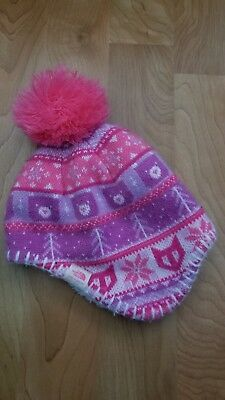 THE NORTH FACE Baby Infant Nugget Beanie Hat Lupine Size XXS 0-6M ... dd84624da112